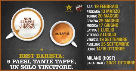 Best Barista Caffè Vergnano