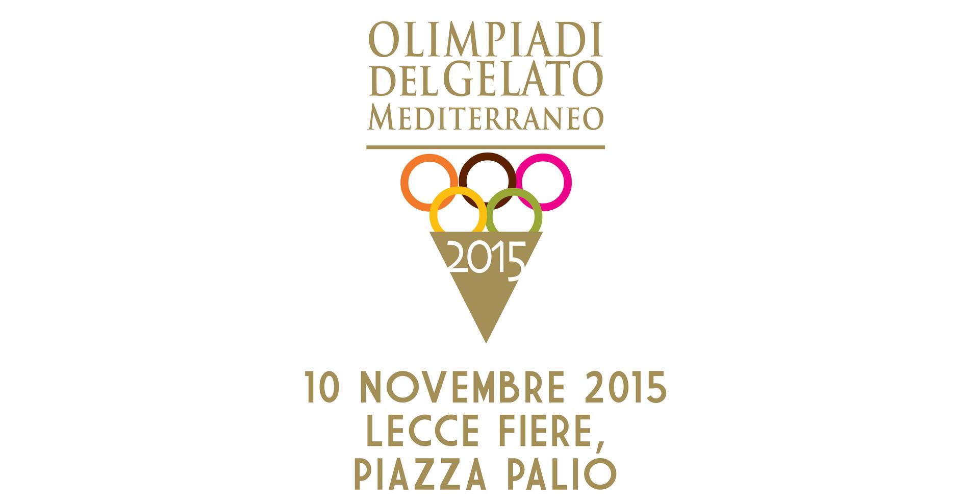 OLIMPIADI DEL GELATO MEDITERRANEO 2015